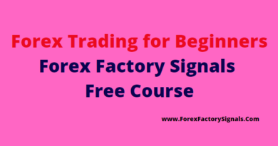 Forex Trading for Beginners-Forex factory Signals Free Course